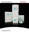 Honeywell touchpoint Pro Control Systems Operating manual (100 pages)