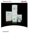 Honeywell touchpoint Pro Controller Operating instructions manual (241 pages)