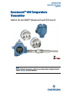 Emerson 644 Transmitter Quick start manual (34 pages)